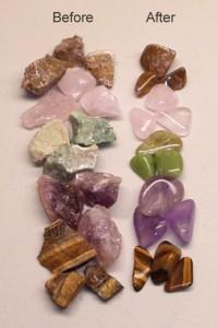 Tumbled Rocks 1